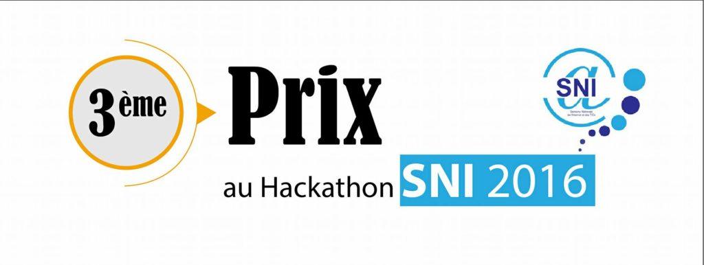 3e prix SNI 2016